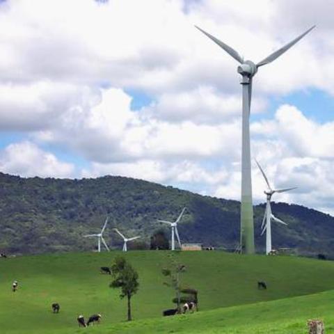 Windy Hill Windfarm Built
