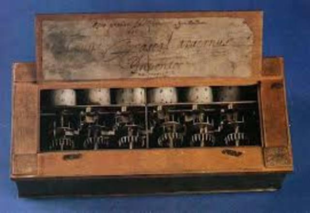 Pascalina. Primera calculadora mecànica
