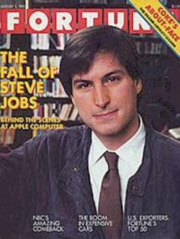 Steve Jobs leaves