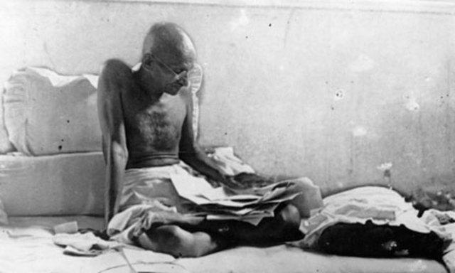 Gandhi fasts