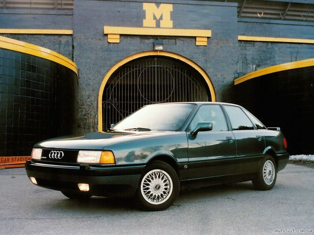 Audi 80 Refitted