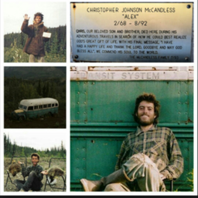 The Journey of Chris McCandless timeline
