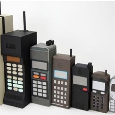 Historia del teléfono celular timeline