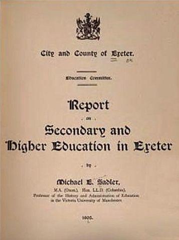the sadler report