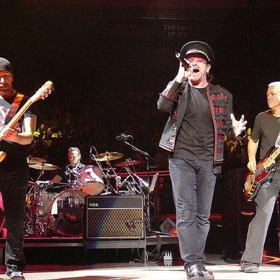 U2 Δισκογραφία timeline