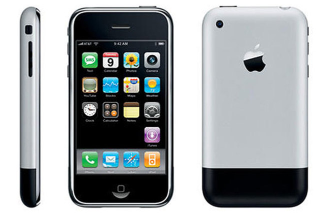 iPhone launched