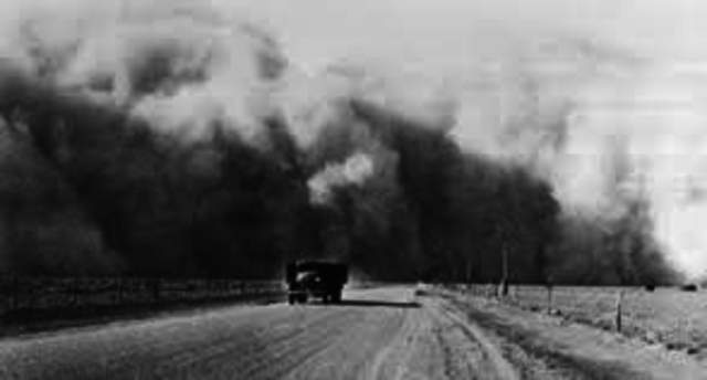 what is black sunday dust bowl