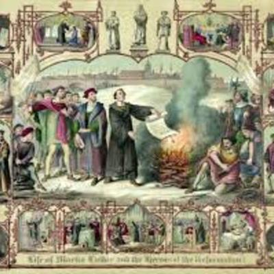 Rennaissance >> The Protestant Reformation : Lutheranism timeline