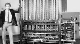 Эволюция устройства вычислительной машины. timeline