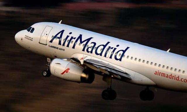 Flight to Madrid