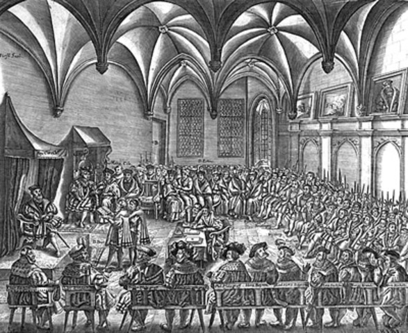 Peace of Augsburg Ends Religious War in Germany; Charles V Abdicates
