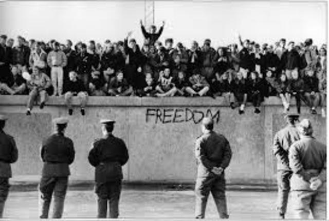 Berlin Wall Erected
