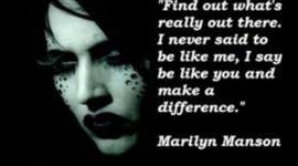 Marilyn Manson timeline