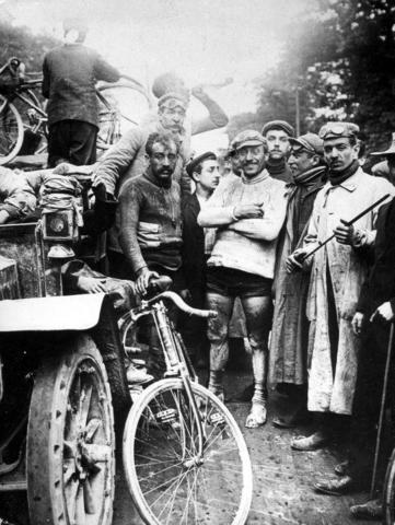 Maurice Garin Wins the Inaugural Tour