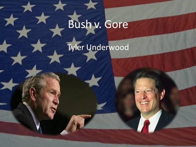 bush v  gore timeline