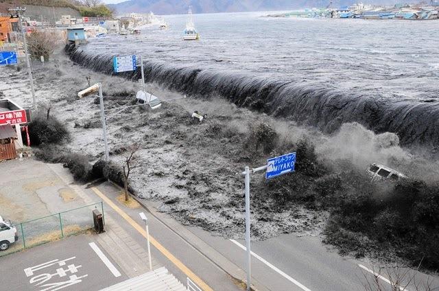 tsunami de japon