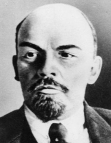 Lenin Returns to Russia