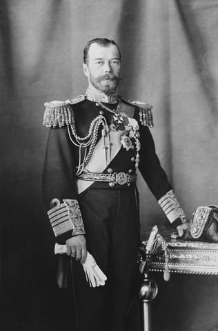 Czar Nicholas abdicates the throne