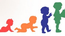 Desarrollo físico y psicomotor, alimentación del niño de 0-6 años timeline