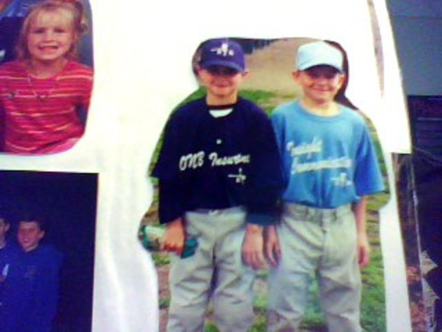 My first baseball game.