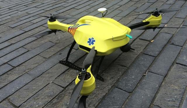Ambulance Drones First Released For Use