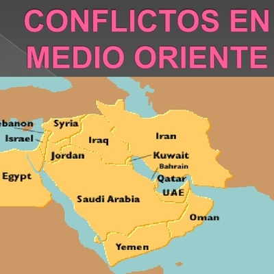 Conflictos del Oriente Medio durante el siglo XXI timeline