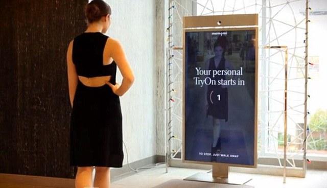 First digital mirror