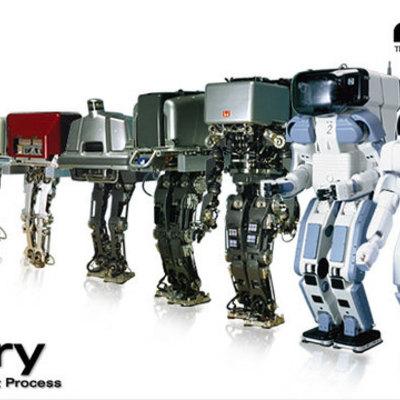Η ιστορία των Ρομπότ timeline