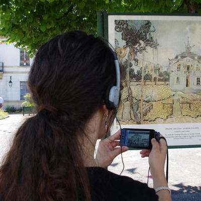 Les inventions liées à l'évolution des parcours touristiques audio guidés timeline