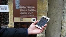 Les inventions liées à l'évolution des parcours touristiques audio-guidés timeline