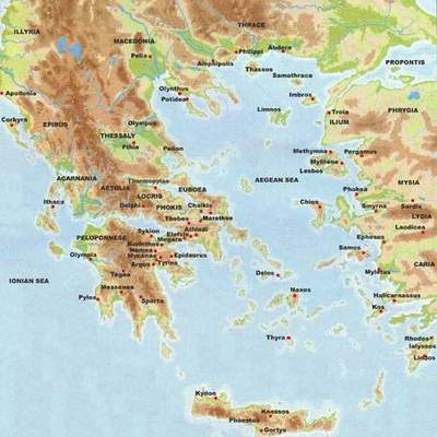 The History of Ancient Greece timeline