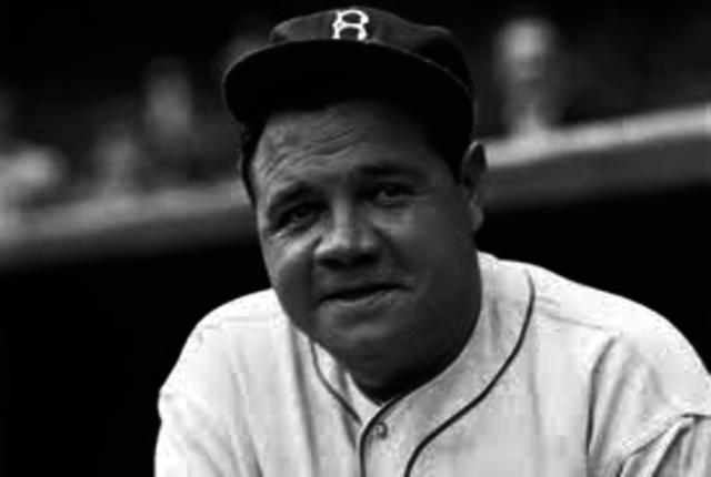 Babe Ruth hits 60th homerun