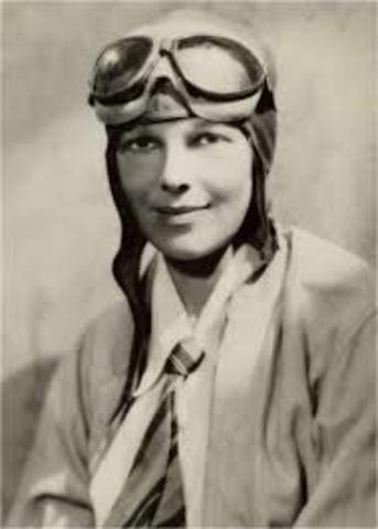 Amelia Earhart disappears over the Pacific