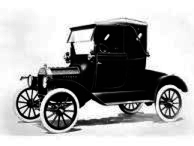 First Model T produced