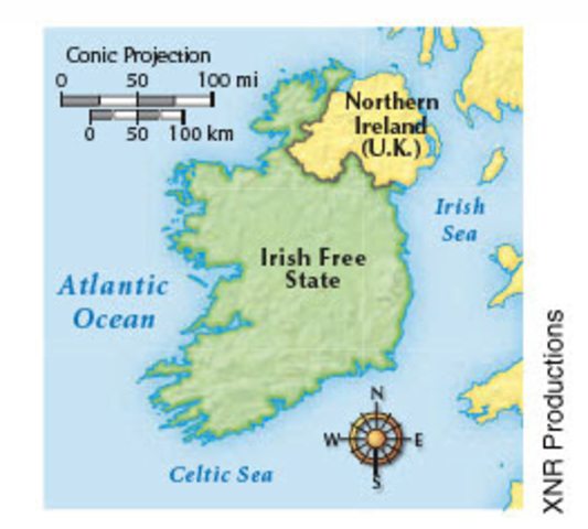The History Of Ireland Timeline Timetoast Timelines