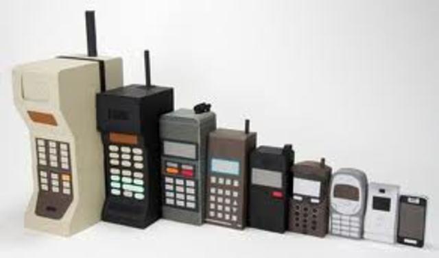 cell phone history timeline timetoast timelines. Black Bedroom Furniture Sets. Home Design Ideas