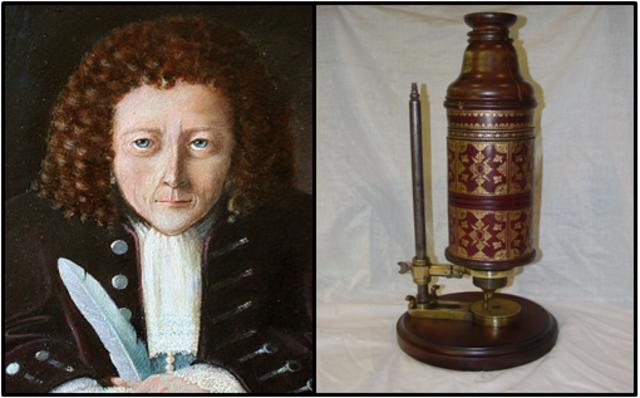 Robert Hooke publica Micrographia