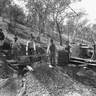 History of Gold Mining in Victoria timeline