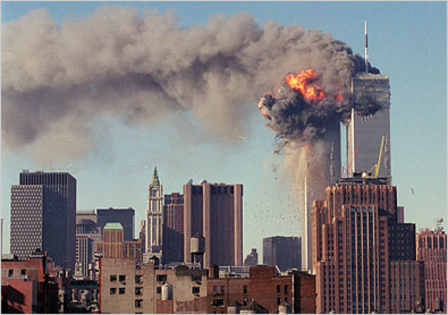 Attack on World Trade Center towers, 9-11