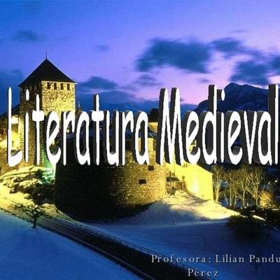 La cronología de la literatura medieval timeline