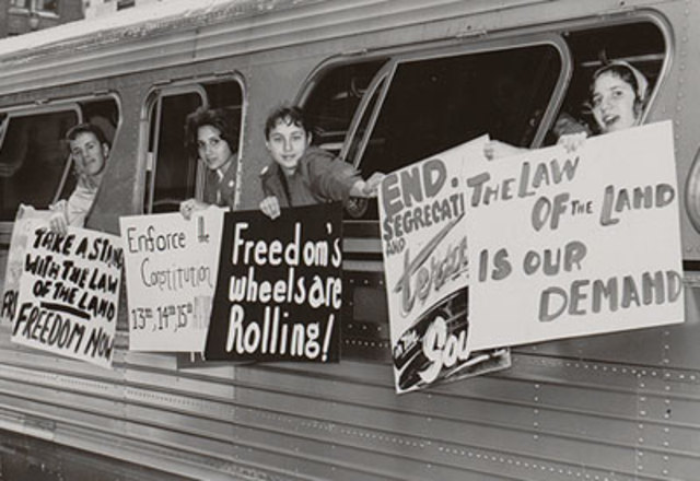 Freedom Riders Enter NC: Chapel Hill, Durham, Raleigh, Greensboro