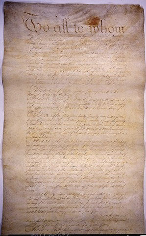 Articles of Confedertion