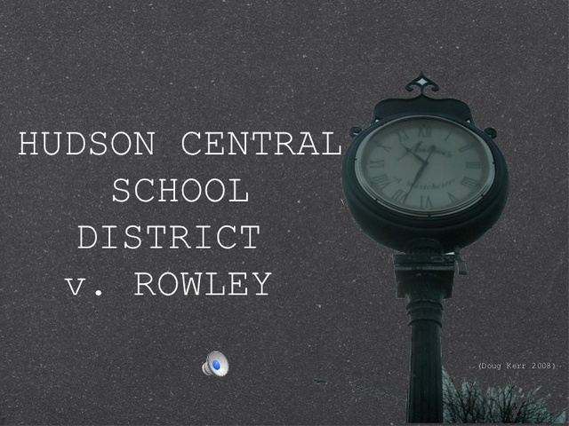 Board of Education VS Rowley