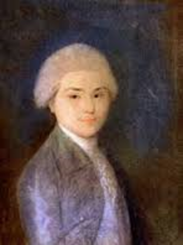 John Adams starts his trip to France as a young boy.