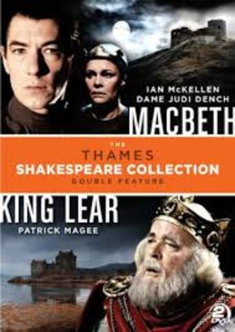 Shakespeare writes King Lear and Macbeth