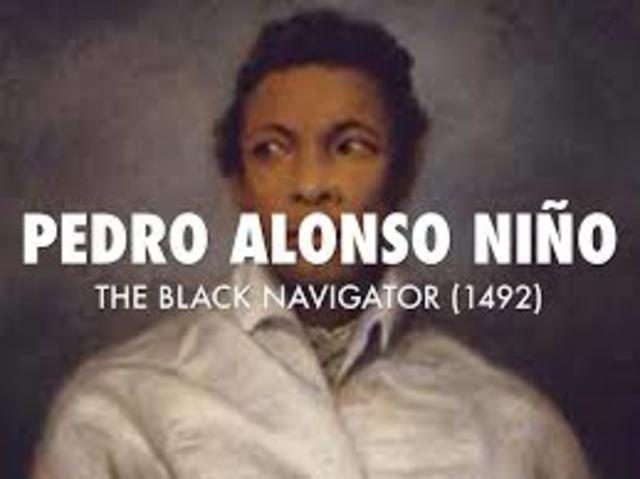 Perdro Alonso Nino Travels to the New World