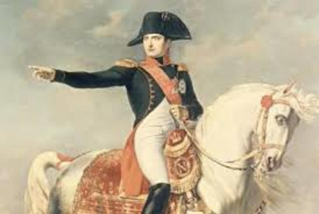 Napoleon became captain of french army