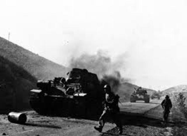 S.Korean forces pushed back to Pusan