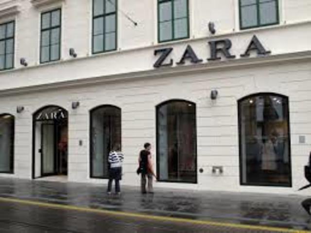Expansiòn de ZARA 1976 -1983