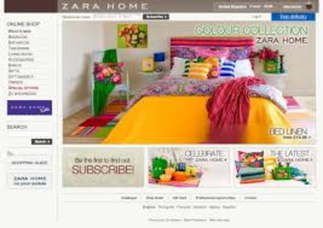 Primera tienda on-line